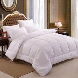 Hotel de lujo de microfibra poliéster sábanas blancas de algodón edredón