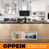Oppein島(OP17-PVC04)が付いている現代PVC標準食器棚