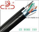 Cavo esterno del calcolatore del cavo del cavo UTP di comunicazione della rete di Ftpcat6 4X2X23AWG 250MHz/Cable