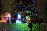 Testes padrões originais para o laser verde vermelho da animação do Natal com lasers ao ar livre do Natal da função impermeável