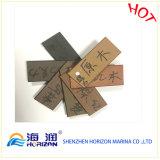 Decking ao ar livre contínuo do porto WPC em China/composto plástico de madeira