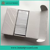 Impressão direta com jato de tinta, cartão de PVC para impressão