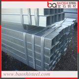 Galvanizado tubo rectangular de acero hueco / rectangular Tubo