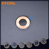 Receptor sem fio personalizado de ferrite com bobina de indução