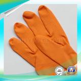 Anti Acid impermeable examen jardín negro guantes de látex con alta calidad