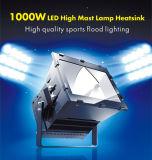 Indicatore luminoso di inondazione di alto potere 1000W LED per lo stadio file Footable