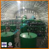 Heiß zum Osten-Abfall verwendeten Öl, das Maschinen-Bewegungsmotor-Erdölraffinerie-Maschine aufbereitet
