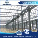 Almacén prefabricado de la estructura de acero del diseño de la construcción