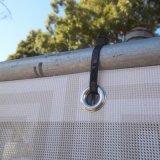 Drapeau Vent-Résistant de canevas de PVC de maille d'amassage