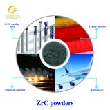 Avec bonne conductivité électrique et conductivité thermique, poudre de zirconium de carbure
