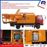 Diesel y eléctrico de la bomba montada en camión mezclador de concreto para la venta (JBC40)