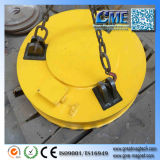 Electromagnetos de elevação circular para restos de aço
