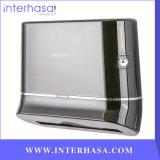 Dispensador plástico del tejido de la toalla de papel de la Z-Carpeta del ABS del montaje de la pared del dispensador del papel higiénico