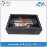 hecho personalizado Caja de regalo de cartón rígido control deslizante de cajones de embalaje la botella de agua