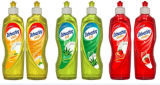 Do sabão quente do prato da venda do OEM detergente líquido com cheiro da fruta