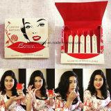 Matches de besame Besame rouge à lèvres rouge contient 5 Single-Use correspond