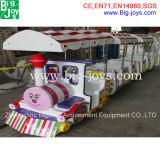 Mini tren de la diversión, mini paseo eléctrico del tren (BJ-ET20)