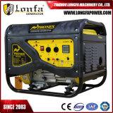 tipo silencioso generador del comienzo eléctrico de 5.5kVA 188f de la gasolina