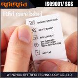 860-960MHz etiqueta pasiva de la ropa RFID