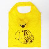 رسم متحرّك حقائب دبّ يطوي [شوبّينغ بغ] بيع بالجملة حقيبة يد مصنع بوليستر لون مختلطة