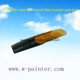 """3/4 """" di tubo flessibile Braided della resina della fibra di Aramid e dell'acciaio"""