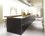Moda del gabinete de cocina de alto brillo del gabinete de cocina Mobiliario de cocina