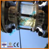 ディーゼル燃料の生産単位にリサイクルする黒く不用な潤滑油オイル