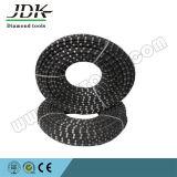 11,5 mm revestida de goma de alambre del diamante vio para cantera de piedra y reforzar corte de concreto