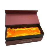 L'estampage partielle de l'impression CMJN UV Papier cadeau boîtes en carton du vin