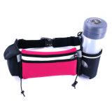 Sac courant respirable imperméable à l'eau personnalisé de taille d'hydratation de courroie de Lycra pour le sport