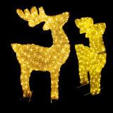 Comercial al aire libre de Navidad decorativas Art LED Luz reno