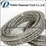 Frittage élastique à brasure scie à fil de diamant perles scie à cordes de coupe