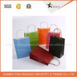 Blaue Farben-Großverkauf-Qualitäts-Papier-Geschenk-Beutel