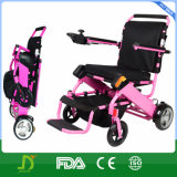 뇌성 마비 경량 쉬운 접히는 힘 휠체어를 전송한다
