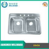 Dispersore di cucina superiore dell'acciaio inossidabile del supporto D8456