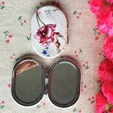 Dubbel-onder ogen gezien Draagbare Leuke Kosmetische Spiegel, de Spiegel van de Zak