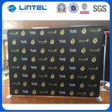 Annonçant le stand de drapeau d'étalage de contexte de cabine de tissu (LT-24Q1)