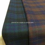 Ткань шерстей проверки цветов двойной стороны по-разному