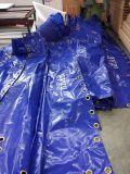 Bâche de protection imperméable à l'eau stratifiée colorée de PVC