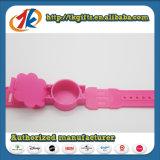 Plastikarmbanduhr-Blumen-Form-Uhr-Spielwaren für Kinder