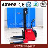 Ltma 1.5 de Ton 1.8 Ton Brede Stapelaar van de Pallet van het Been Elektrische