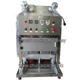 Máquina del lacre de la bandeja del gas que vacia