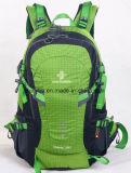 Sac à dos de hausse imperméable à l'eau de la mode la plus neuve, sac de sac à dos de polyester, sac campant s'élevant de sac à dos de course de sports en plein air
