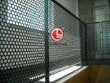 Los paneles de aluminio perforado Globond