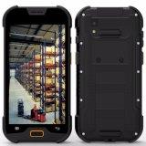Terminal IP68 Handheld industrial impermeável áspero de Smartphone com o coletor de dados do varredor de código de Qr do código de barras 1/2D