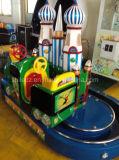 子供の乗車のトマスのトレインの乗車のためのトラックが付いている上の販売円形の城のトレイン