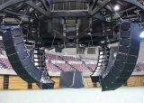Línea altavoz de L-808 8inch de los sistemas de sonido del arsenal para el concierto vivo