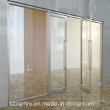 현대 집 디자인 저가를 가진 알루미늄 단 하나 유리제 여닫이 창 문