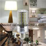 LEIDENE van het Lichaam van de LEIDENE Kleur van het Graan de Lichte E27 20W Koele Witte Zilveren Lamp van de Bol