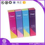 L'impression colorée l'emballage personnalisé Boîte de Papier de cadeau cosmétique